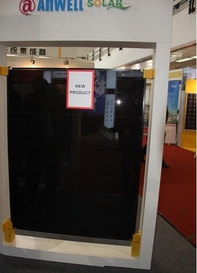 ...晶硅薄膜太阳能电池产品亮相CIPV光伏展会图片 39249 399x554