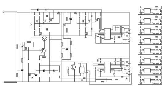 8串动力锂离子电池保护电路